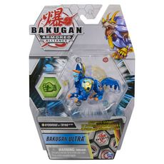 SPIN MASTER Coffret Pack 1 Bakugan Ultra saison 2 - Armored Alliance - Hydorous et Tryno Bleu et or