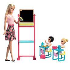 MATTEL Barbie maîtresse d'école et sa classe