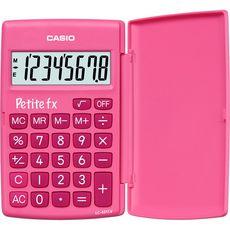 CASIO  Calculatrice arithmétique de poche Petite Fx rose