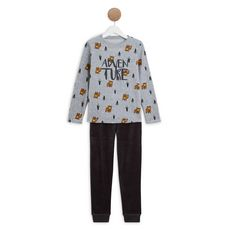 IN EXTENSO Ensemble pyjama velours garçon