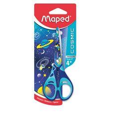 MAPED Paire de ciseaux bouts ronds 13cm COSMIC KIDS bleu