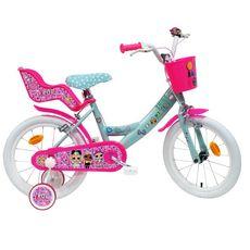 LOL Vélo 16 pouces - LOL avec porte-poupée et panier