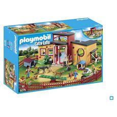 PLAYMOBIL 9275 - City Life - Pension des animaux