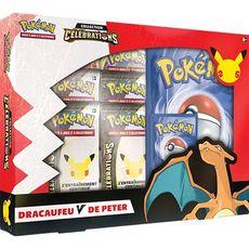 ASMODEE Pokémon JCC - Coffret V Card Box - 25ème anniversaire