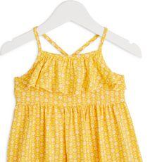 IN EXTENSO Robe viscose bébé fille (Jaune)