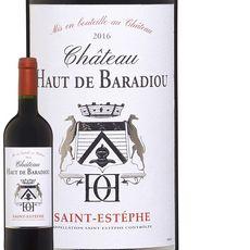 Château Haut de Baradiou Saint Estèphe Rouge 2016