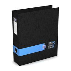 OXFORD  Classeur à levier A4 dos 80mm Bigfile noir et bleu