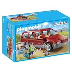 PLAYMOBIL 9421 - Family Fun - Famille avec voiture