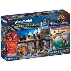 PLAYMOBIL 70778 - Novelmore - Calendrier de l'Avent chevaliers