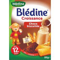 BLÉDINA BLÉDINE  Croissance Choco Biscuitée   Dès 12 mois 500g