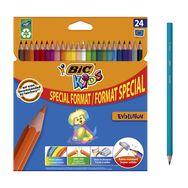 Crayons de couleur EVOLUTION ECOLUTIONS (lot de 24)