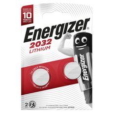 Energizer Piles CR/2032 lithium 3v x2 2 pièces