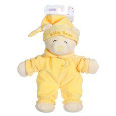 GIPSY Peluche Baby Bear douceur 24 cm - Jaune pâle