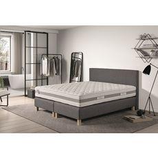 PRESTIGE Collection Ensemble matelas ressorts ensachés + sommiers + tête de lit + pieds 160x200cm CONFORT HOTEL