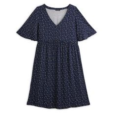 IN EXTENSO Robe grande taille femme (Bleu marine)