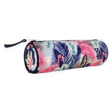 YOUNG'S ATTITUDE Trousse scolaire ronde polyester imprimé floral