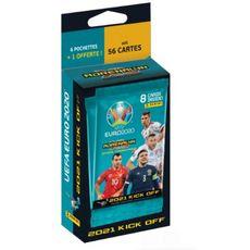 Blister cartes euro 2021 6 pochettes + 1 offerte