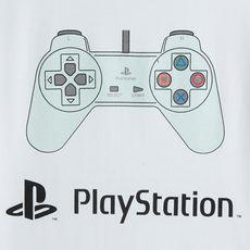 PLAYSTATION T-shirt manches courtes garçon (Blanc)
