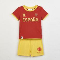 UEFA Pyjashort euro 2020  Espagne bébé  (Rouge)