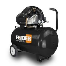 FEIDER Compresseur 100L - 8 bars 369L/minute