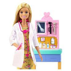 MATTEL Poupée Barbie Docteure