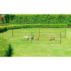 Jardikt Kit clôture Nomade pour poules 12m