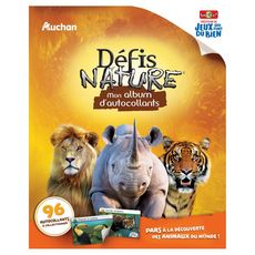 BIOVIVA Défis Nature mon album d'autocollants collector 1 album