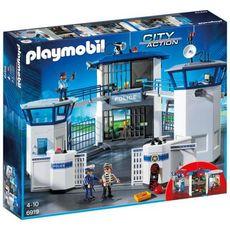 PLAYMOBIL 6919 - City Action - Commissariat de police avec prison