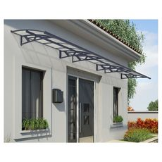 Canopia by PALRAM Marquise CANOPY AMSTERDAM 6690 Gris anthracite
