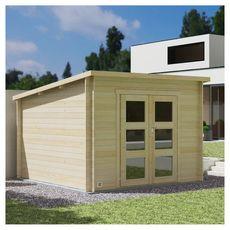 Forest Style Abriter Abri bois 28mm DAINTREE 8,9 m²