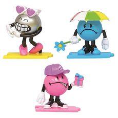 SPLASH TOYS 3 figurines Smiley
