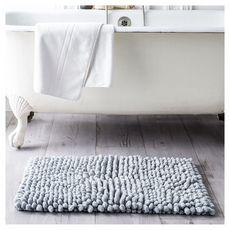 TODAY Tapis de bain uni en coton BUBBLE