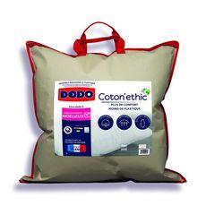 DODO Oreiller moelleux en coton Bio COTON'ETHIC