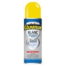 Colmateur d'étanchéité en spray couleur blanc