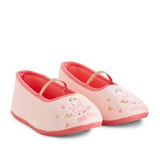 IN EXTENSO Chaussons ballerines fille (Rose )