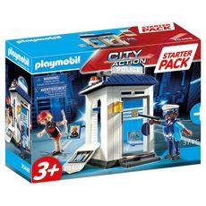 PLAYMOBIL 70498 - City Action - Starter Pack Bureau de police