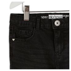 IN EXTENSO Jean droit 5 poches fille (Brut rinse)