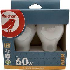 Ampoule LED Standard B22 60W Couleur chaude