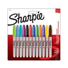 SHARPIE 12 marqueurs Sharpie pointe fine