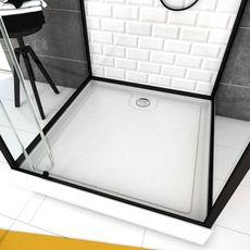 Aurlane Cabine de douche carré Métro 80 - 80 x 219 à 230 cm