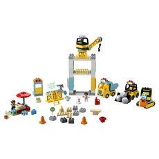 LEGO DUPLO Construction 10933 - La grue et les engins de construction