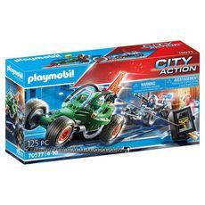 PLAYMOBIL 70577 - City Action - Police karts policier et bandit