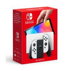 NINTENDO Console Nintendo Switch (modèle OLED) Joy-Con Blanc