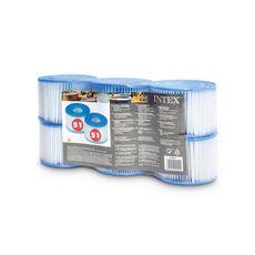 INTEX Lot de 6 cartouches de filtration pour SPA