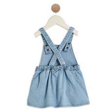 IN EXTENSO Robe en jean bébé fille (Bleached)