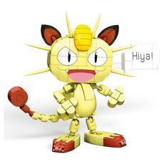 MEGABLOKS Figurine Miaouss à construire Pokémon