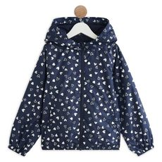 IN EXTENSO Coupe vent fille (Bleu marine )