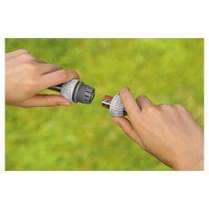 """Réparateur de tuyau d'arrosage 13 mm (1/2"""") et 15 mm (5/8"""")"""