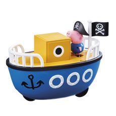 GIOCHI PREZIOSI Véhicule avec figurine - bateau - Peppa Pig