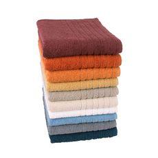 Drap de bain uni en coton 450gr/m² ALIX (Orange)